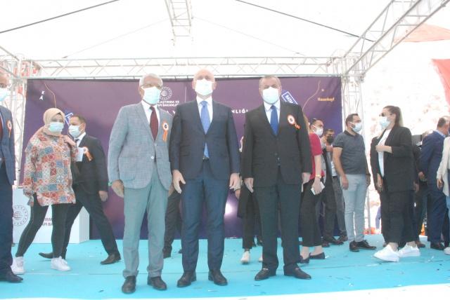 Mardin-Midyat Bölünmüş Yol Temel Atma Töreni