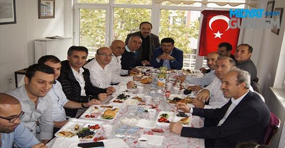 Ankara'daki Mardinliler Kahvaltıda Bir Araya Geldi