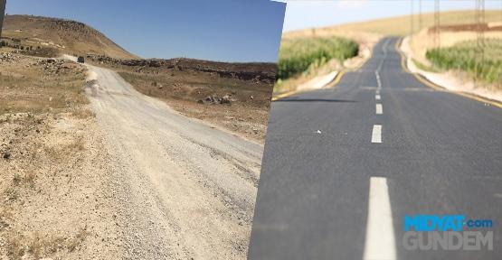 Kırsal Mahalleler Tozlu ve Topraklı Yollardan Kurtuluyor