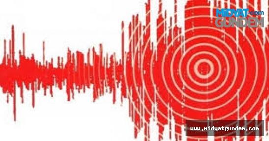 7,2 büyüklüğünde deprem Midyat'ta Hissedildi
