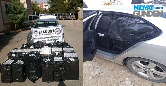 Mardin'de 15 Bin Adet Kaçak Sigara Ele Geçirildi