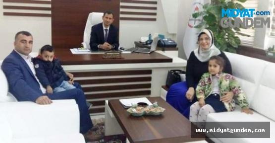Mardin'i Yılın öğretmeni olarak Ankara'da temsil etti