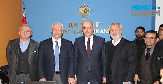 AK Parti Midyat Teşkilatı Yeni Binasına Taşındı