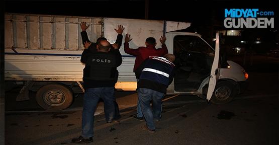 Mardin'de Güven ve Huzur uygulaması
