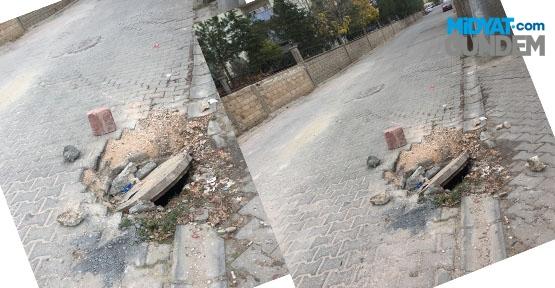 Türk Telekom Kapağı Tehlike Saçıyor