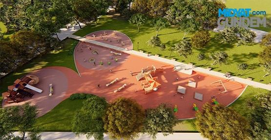 Kabala'ya Yakışan Bir Park İçin Çalışmalar Başlıyor