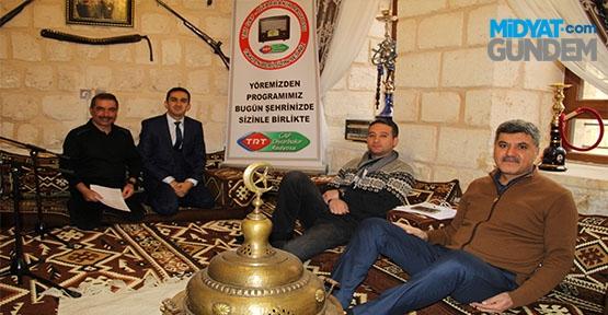 TRT GAP Radyosu, Midyat'tı Tanıttı