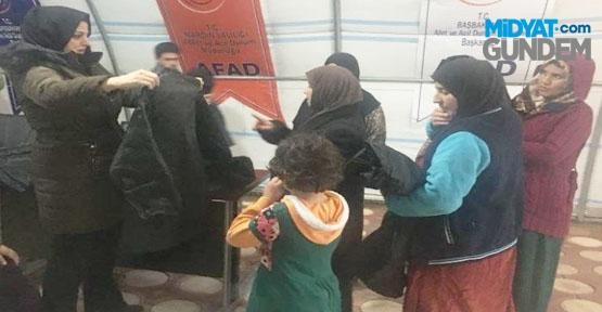 AK Parti Mardin İl Başkanlığından Mültecilere Yardım Eli