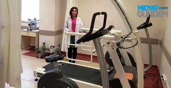 Mardin Devlet Hastanesinden akşam fizik tedavi hizmeti