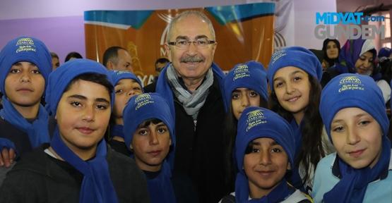 Mardin'deki Buz Pisti Büyük İlgi Gördü