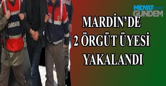 Mardin'de 2 Örgüt Üyesi Yakalandı
