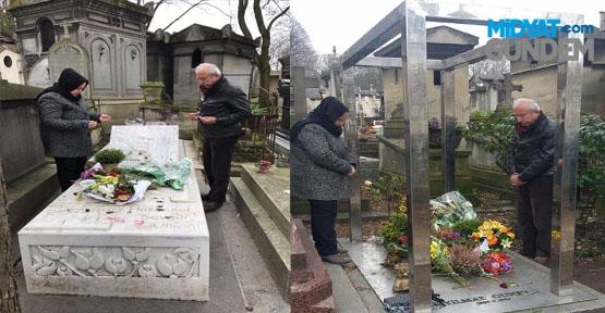 Miroğlu Ahmet Kaya Ve Yılmaz Güney´in Mezarlarını Ziyaret etti