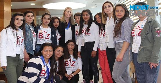 TBMM İdare Amiri, Çankırı konuk öğrencileri ağırladı.