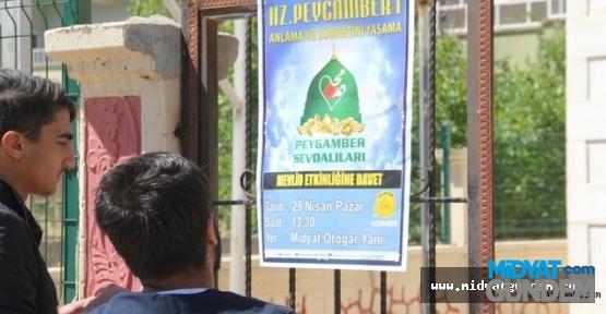 Midyat'ta Mevlid Etkinliği