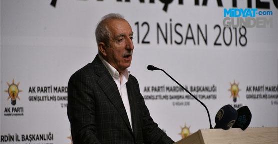 Miroğlu, İl Danışma Toplantısında Konuştu