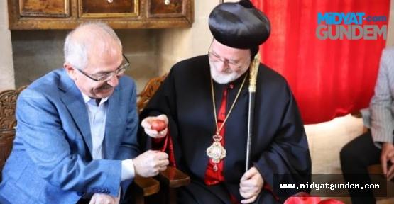 Yaman, Paskalya Bayramı kutlamalarına katıldı