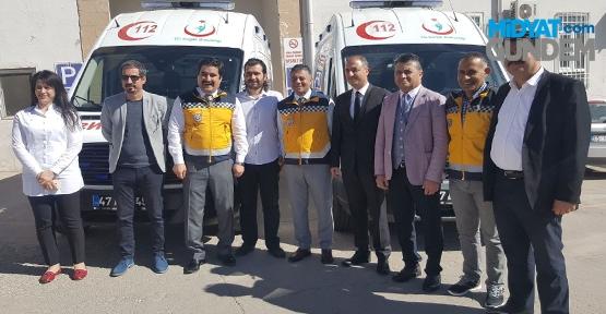 Yeni Ambulanslar Tören Hizmete Girdi