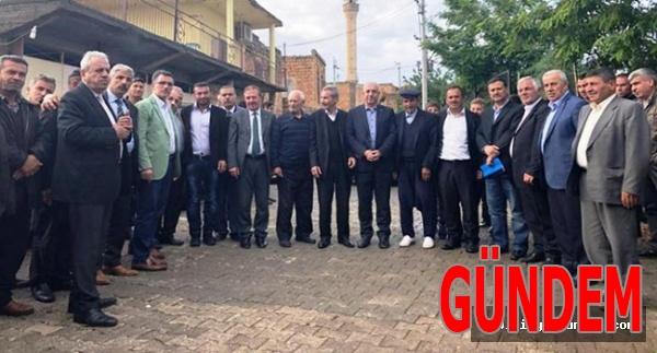 AK Parti Mardin İl Teşkilatı Savur'a Çıkarma Yaptı