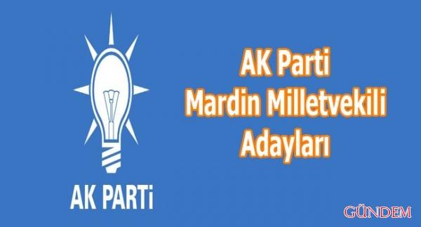 AK Parti Mardin Milletvekili Adayları