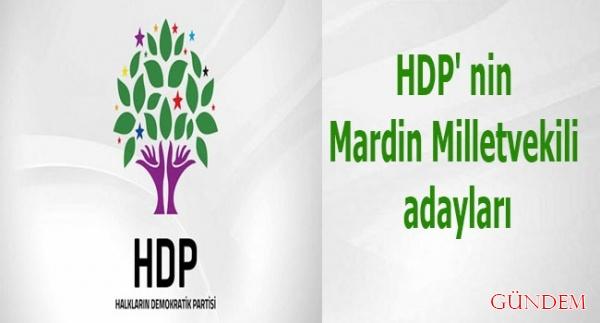 HDP Mardin Milletvekili Adayları
