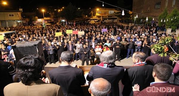 Midyat Kudüs için Ayakta