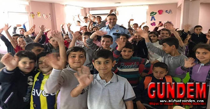 Midyat'ta Bütün Öğrencilerine Trafik Eğitimi
