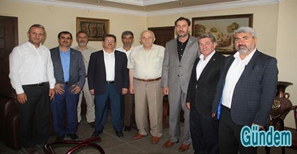 HÜDA PAR Mardin adaylarından aşiretlere ziyaret