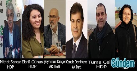 Mardin'de Hdp 4, AK Parti 2 Milletvekilliği Kazandı