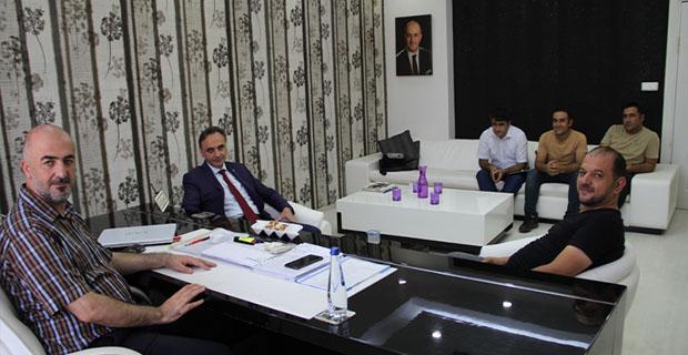 DİKA Genel Sekreteri Altındağ'dan, Ameliyat Olan Güneştan'a Ziyaret