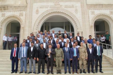 Midyat'ta 19 Ekim Muhtarlar Günü kutlandı