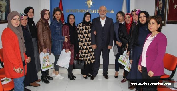 Muharrem İleri, AK Parti Kadın Kollarıyla Buluştu