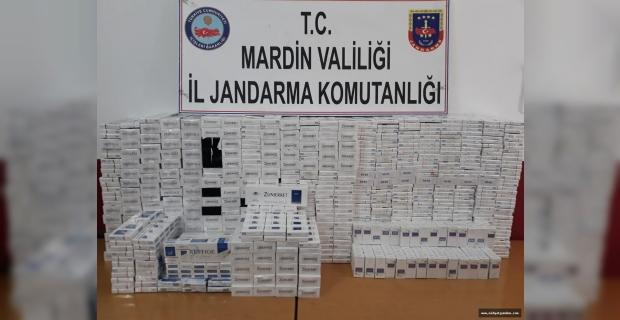 Artuklu'da 4 Bin 70 Paket Sigara Ele Geçirildi