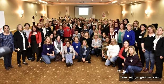 Kadın Muhtar aday adayları, KA.DER'in eğitimine katıldı