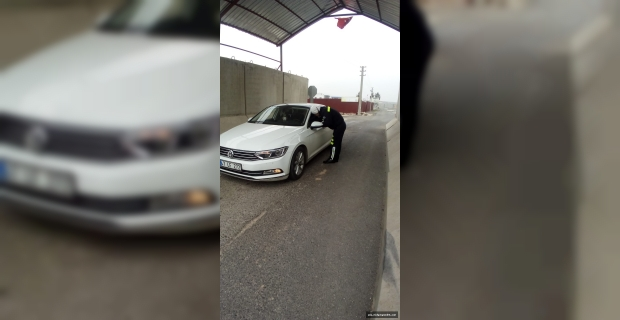 Midyat'ta trafik denetimi yapıldı