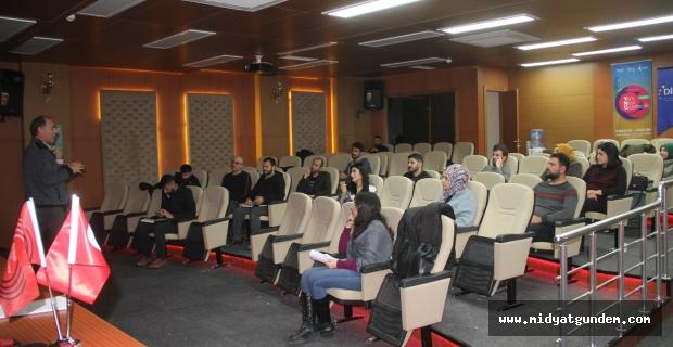 Yeni Nesil Gazetecilik Programına Prof.Dr.Can Bilgili katıldı