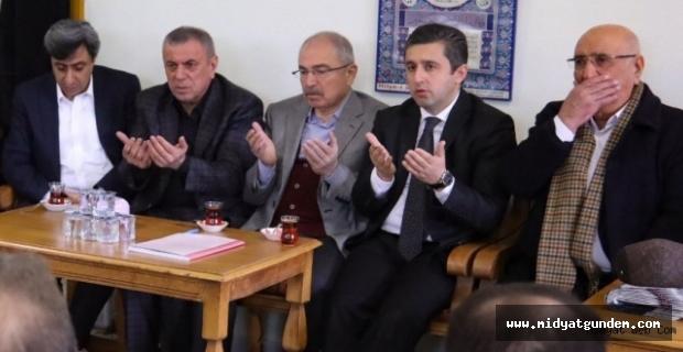 AK Parti Belediye Başkan Adayı Şahin, taziye mesajı yayınladı