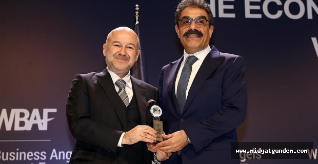 Dünya Melek Yatırım Forumu'nda AA'ya ödül
