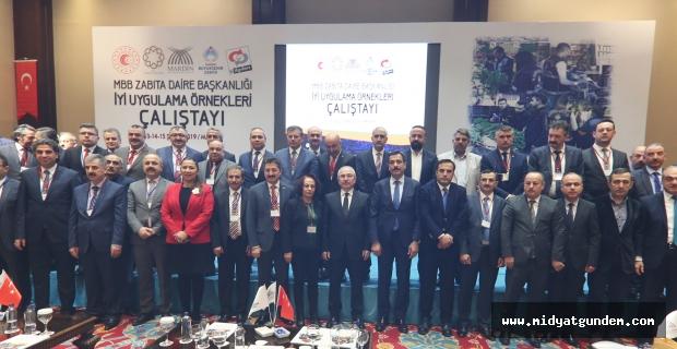 İyi Uygulama Örnekleri Çalıştayı Mardin'de Yapıldı