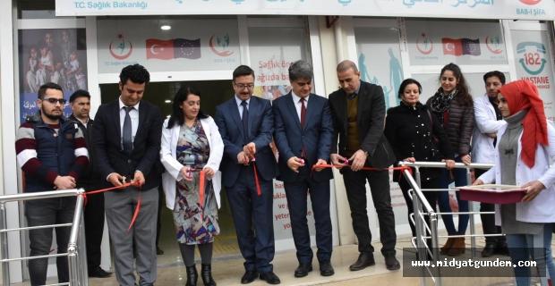 Kızıltepe´de 2 Nolu Göçmen Sağlığı Merkezi Hizmete Girdi