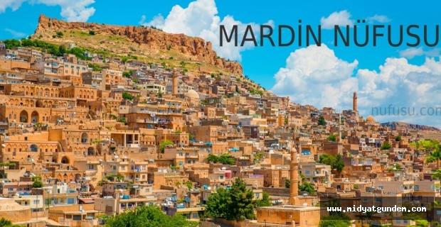 Mardin´in yeni nüfusu 829 bin 198
