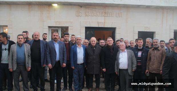 Savur Belediye Başkan adayı Kaya'dan ziyaretler