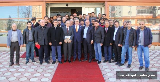 İFEXPO Midyat'ta tanıtım toplantısı gerçekleştirildi