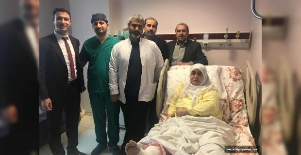 Mardin'de Bir İlk, Ayak Bileği Dondurma Ameliyatı Gerçekleşti