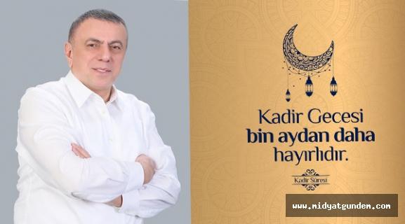 Başkan Şahin, Kadir Gecesi'ni Mesajı