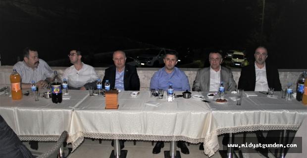 Midyat Belediye Başkanı Şahin, ilçe protokolüne iftar verdi