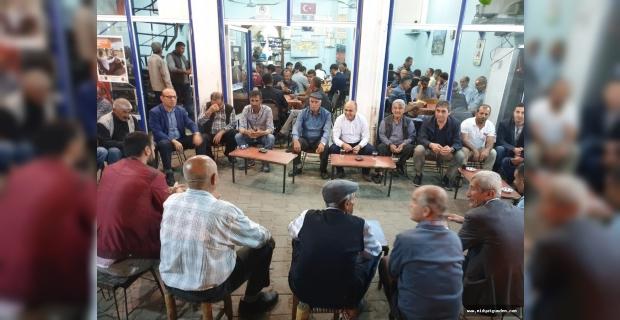 Ömerli Belediye Başkanı Altındağ, Vatandaşlarla Bir Araya Geldi