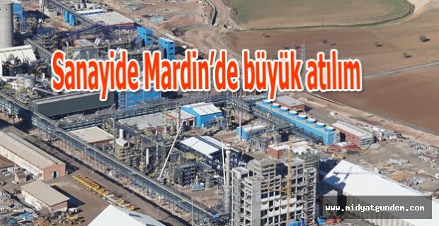 Sanayide Mardin'de büyük atılım