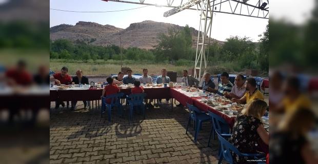 Savur Devlet Hastanesinden iftar yemeği