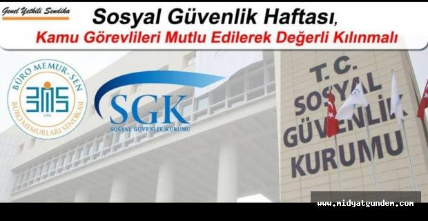 SGK Çalışanlarına Uzmanlık Verilmeli