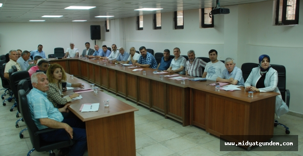 Midyat Belediyesi Haziran ayı meclis toplantısı gerçekleşti